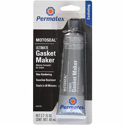 Permatex 29132 MotoSeal Ultimate Gasket Maker Grey, Permatex 38401, 2.7oz 80ml