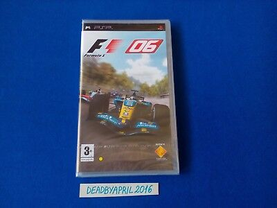 F1 06/Formula One 1 2006 Sony PSP PAL Original Release(New/Factory Sealed)