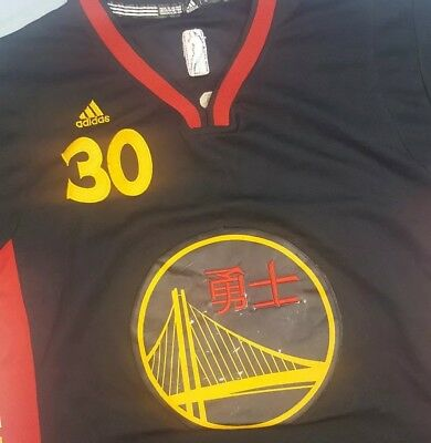 2dce75cef83 ... greece stephen curry golden state warriors chinese new year jersey l  adidas swingman 28ee1 258cf ...