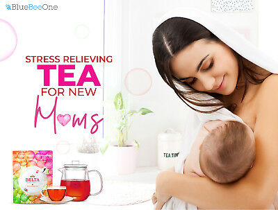 Japan Belta Miracle Organic Rooibos Tea for Fertility & Pregnancy BlueBeeOne