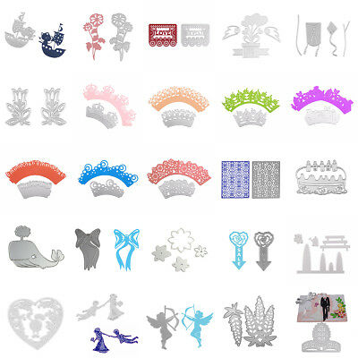 Metal Cutting Dies Stencil Scrapbooking Gift Card Paper Decor Embossing Craft