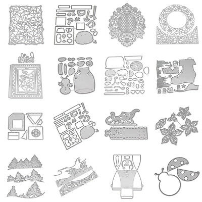 1 piece Banner cutting dies Stitched metal die set scrapbooking cardmaking