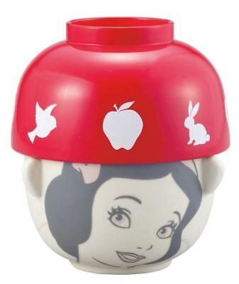 New Disney Characters Princess Snow White Soup Rice Bowl Set Small Size Gift