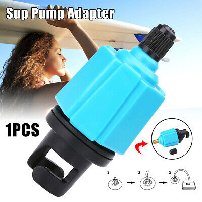 AU Inflatable Boat Sup Pump Adapter Adaptor Air Valve Paddle Board Accessories