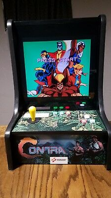 Contra Bar Top Multi Classic Arcade Game X-Men TMNT