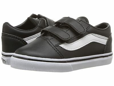 4174787fdf6 Vans Old Skool V Toddler Size Classic Tumble Black True White VN0A38JNNQR  Shoes