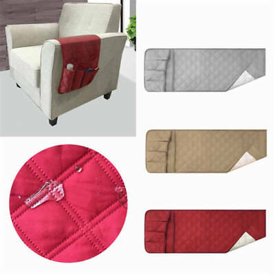 5 Pocket Sofa Chair Arm Chair Rest Storage Holder Remote Control Couch Organizer