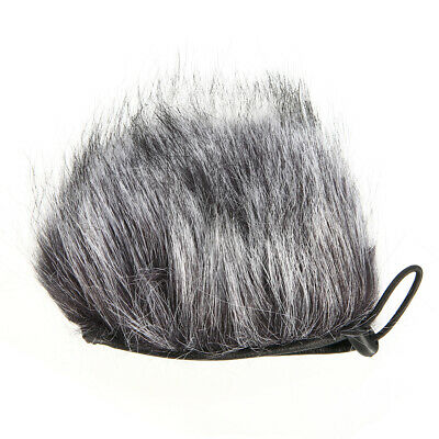 Microphone Mic Muff Windshield Cover Hair Artificial Anti Wind For Zoom H2N H4N