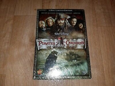 EUC Disney's Pirates of the Caribbean At World's End 2-Disc Limited Edition DVD