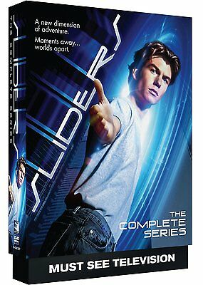 Sliders The Complete Series Season 1-5 Collection DVD Set Episode TV All Show R1