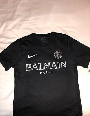 new styles 133aa b2a26 PSG X BALMAIN Limited Edition Custom Nike Football Shirt