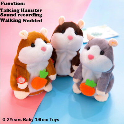 Lovely Hamster Talking Mouse Pet Christmas Kids Gift High Quality Free Shipping