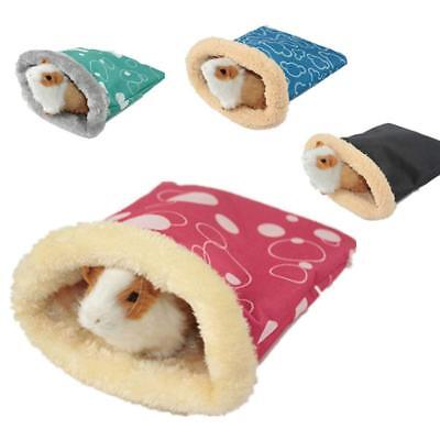 Small Pet Hamster Sleeping Bag Pouch Soft Warm House For Guinea Pig Hedgehog