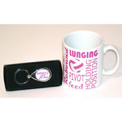 Netball Mug and Keyring