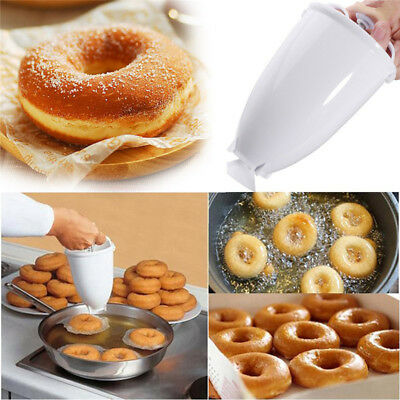 Kitchen Plastic Doughnut Maker Machine Mold DIY Pastry Making Bake Ware Mould