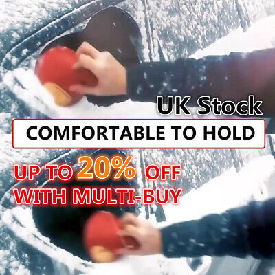 Magic Car Windshield Ice Scraper Tool Cone Shaped Round Funnel Remover Snow UK D