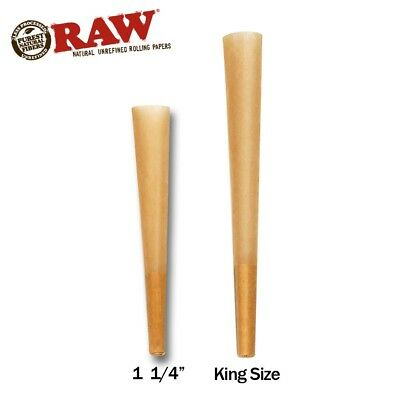 RAW Cones Classic *Mega Pack* 32 Cones - Pre Rolled Rolling Papers - Bulk Buy