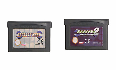 Advance Wars 1/2 Cartridge Card For Game Boy Advance GBA SP GBM NDS NDSL