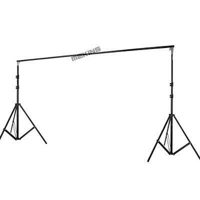 3m 10Ft Photo Backdrop Support Stand  Background Crossbar Kit