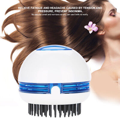 Electric Ionic Hair Relieve Stress Anti-Static Hair Comb Brush Scalp Massage