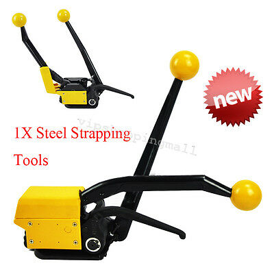 Industry A333 Steel Strapping Tool for strap steels width from 13to19mm Safe Use