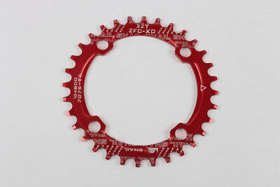 SNAIL Aliminum 104BCD Chainwheel 32-36T MTB Road Bike Bicycle Crank Chain Ring