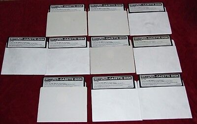 13 Compute's Gazette disks for Commodore 64 / 128 from 1994 to 1995