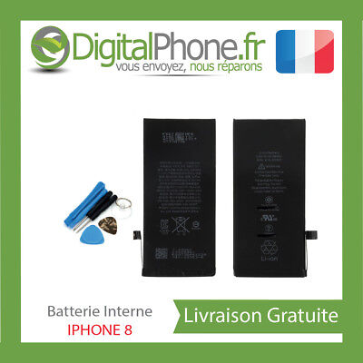 Batterie Interne Pour Iphone 8 Neuve + Outils ---Tva ---O Cycle---Top Qualite