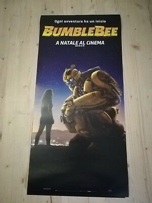 BUMBLEBEE Locandina Film 33x70 Poster Originale Cinema T.KNIGHT TRANSFORMERS