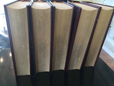 Winston S. Churchill - 1874-1934 Five Volumes By Gilbert. Never opened