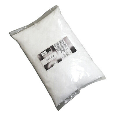 2kg Citric Acid (Fine, Anhydrous) - 2 x 1KG - 100% Food Grade - Cheapest on eBay