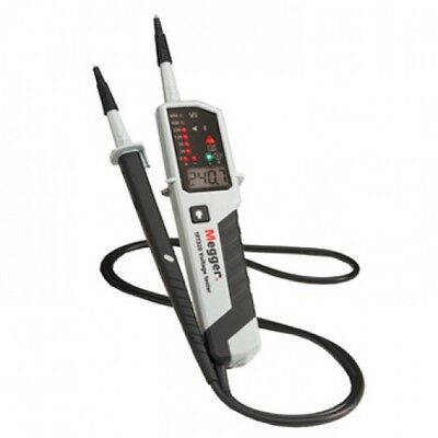 Megger TPT320 LCD Two Pole AC DC Voltage, Continuity & Phase Rotation Tester