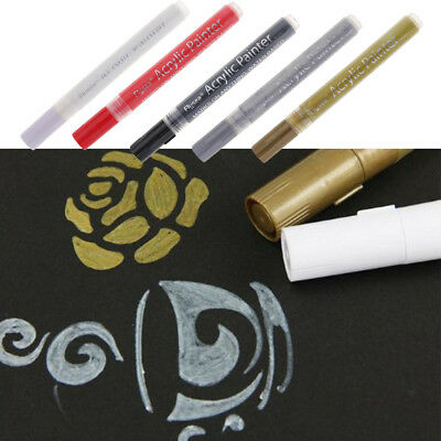 Waterproof Acrylic Paint Markers Arts Permanent Painting