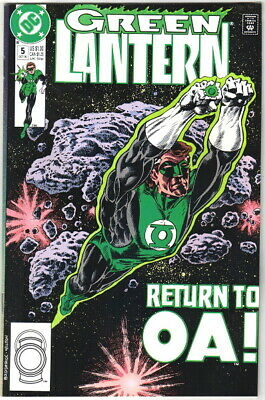 Green Lantern Comic Book #5 Third Series DC Comics 1990 NEAR MINT NEW UNREAD