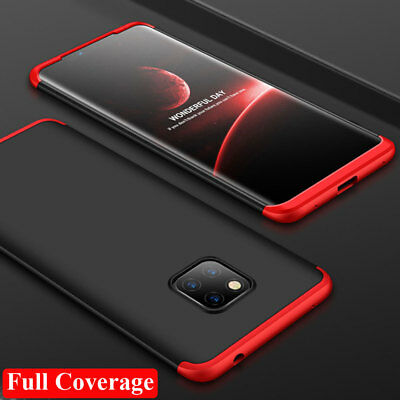Shockproof 360° Full Protective Armor Case Cover for Huawei Mate 20 Pro/Y9 2019