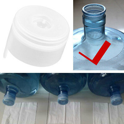 5Pcs Non-Spill Bottle Snap On Cap Replacement for 55mm 3-5 Gallon Water Jug Kit