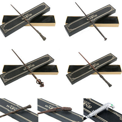 Movie Harry Potter Magic Magical Wand Metal Prop Stick Cosplay Gifts In Box Toy
