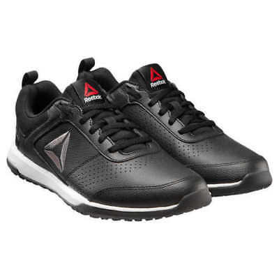 NEW Reebok Men's CXT TR Athletic Shoes Training Sneakers black Leather Size 12