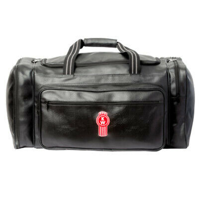 Genuine Kenworth Premium Leather Look Overnight Bag (C-Ken385)