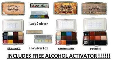 Dashbo alcohol activated palettes ultimate special FX set