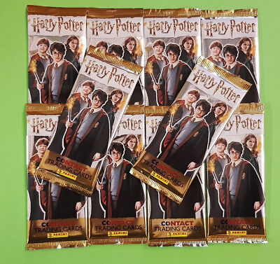Panini Harry Potter Contact Cards Trading Cards 10 Booster - 50 Cards