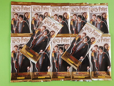 Panini Harry Potter Contact Cards Trading Cards 12 Booster - 60 Cards