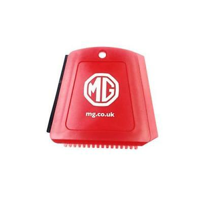 MG Official Merchandise -Red White Logo Double Sided Ice Scraper Winter