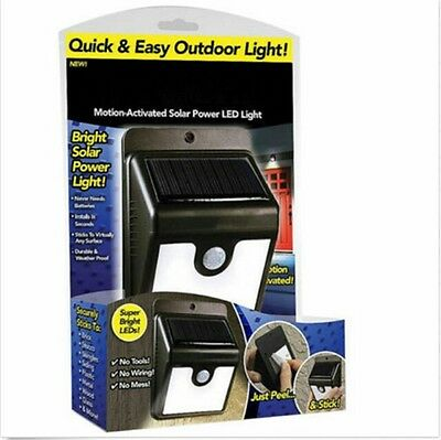 1x Ever Bright Led Outdoor Light-AS ON TV Everbright Solar Powered & Wireless BI