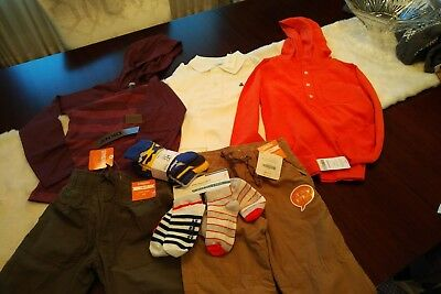 NWT Lot of Boys 5T Clothing - 7 pieces. Gymboree, DKNY, Gap Kids