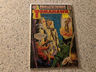 Tomahawk #87 Native American Action Silver Age DC Sgt. Witch Doctor