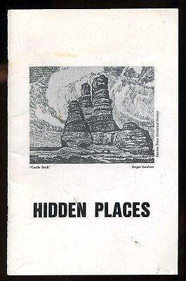 1984 Kansas History State Heritage Book / Hidden Places by Adam W. Rome
