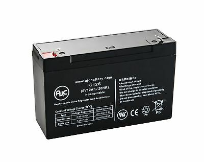Power Sonic PS-6100 6V 12Ah UPS Battery - This is an AJC Brand Replacement