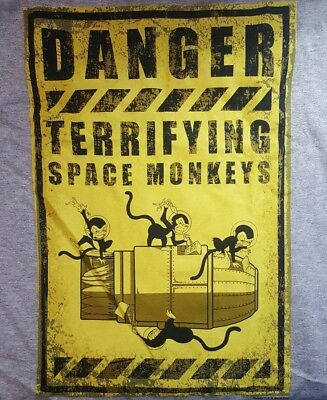 Loot Crate Firefly SPACE MONKEYS Serenity SHIRT Size Small S Kaylee Cargo NEW