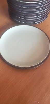 Denby Langley ENERGY Salad Plate celadon and charcoal